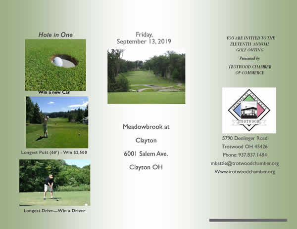 Trotwood Chamber Golf Outing